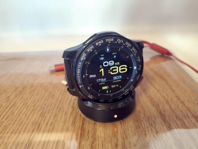 Galaxy Watchは置くだけワイヤレス充電に対応