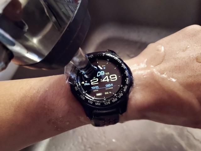 galaxywatchはIP68の防水仕様