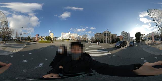 360度で撮影すると